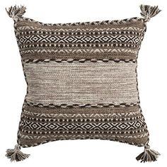 "Ganale Tribal Pillow 20"" x 20"" : Target"
