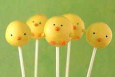 chick cake pop