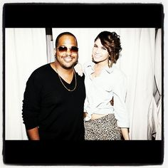 Tricky Stewart and Leah LaBelle