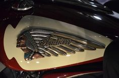indian warbonnet gas tank red - Google Search