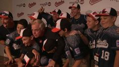 The U.S. Little League champs visited the Orioles and got Buck Showalter to pose in a goofy picture
