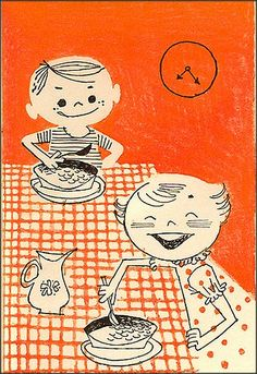 Family Meal Planner, 1957  (I'll have what she's having!!)