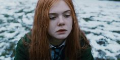 snow winter a24 elle fanning ginger and rosa #humor #hilarious #funny #lol #rofl #lmao #memes #cute