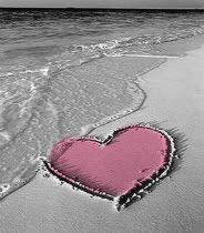 pink heart ❦