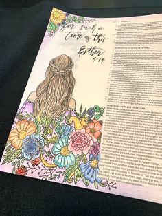 ArtisticWord slowly began as I discovered the beauty and artistic expressions that the bible evoked as I dug deeper into the Word! Scripture Doodle, Bible Verse Art, Faith Bible, Bible Journaling For Beginners, Bible Study Journal, Art Journaling, Bible Drawing, Bible Doodling, Esther Bible