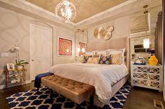 Idées de décoration de la chambre à coucher avec des tapis ~ Décor de Maison / Décoration Chambre