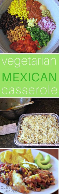 Mexican Casserole Freezer Meal Easy Vegetarian Mexican Casserole that is healthy for your whole family.Easy Vegetarian Mexican Casserole that is healthy for your whole family. Vegetarian Freezer Meals, Vegetarian Recipes, Healthy Recipes, Vegetarian Casserole, Vegetarian Cooking, Vegetarian Mexican Food, Vegetable Recipes, Delicious Recipes, Salad Recipes