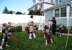 Star Wars yard games