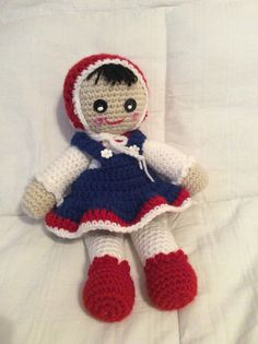 Crochet doll by Connie