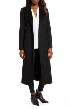 3a3cc66f8ae Fleurette Modern Loro Piana Wool Reefer Coat