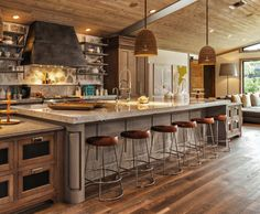 28 Best Big kitchen islands images | Kitchen, Kitchen ...