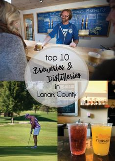 Experience the fun of a distillery tour and beer tasting in beautiful Lanark County, just west of Ottawa. While your at it, take in a round of golf. Best Day Ever. Distillery, Brewery, Summer Brew, Beer Tasting, How To Make Beer, Beer Garden, Brewing Company, Best Day Ever, Along The Way