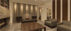 The James Hotel • Onice Nero  #onice #nero #iconstonetile #inspiration #creation #design #space #decor  #home #yyc