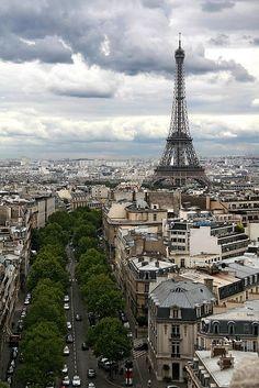 A beautiful view of #Paris. #France #urban #cityliving #travel #takingabreath #cityspaces #urbanspaces