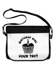 TooLoud Personalized Birthday Girl Cupcake -Customizable- Name Neoprene Laptop  Shoulder Bag Girl Birthday Cupcakes 79e9271e624c2