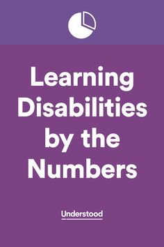 How many kids are getting special education services? Are boys or girls identified more often with learning disabilities? Here's a look at learning disabilities by the numbers.