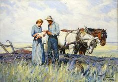 'The Homesteaders' by W.H.D. Koerner