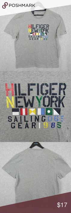 Hilfiger New York Sailing Gear NWT New with Tags! Tommy Hilfiger Shirts Tees - Short Sleeve