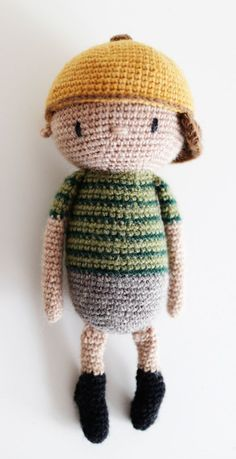 Little Lui Amigurumi pattern crochet Mr. Chain Stitch, Slip Stitch, Crochet Toys, Crochet Baby, Yarn Needle, Amigurumi Doll, Single Crochet, Handmade Items, Crochet Patterns