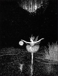 Fairy Ballerina by Ida Rentoul Outhwaite.
