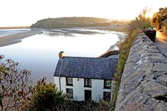 Dylan Thomas's Boathouse, Laugharne, Gower Peninsula, Wales