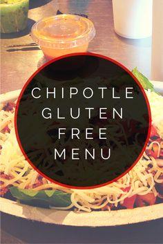 Chipotle Gluten Free Menu #glutenfree