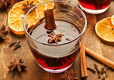 The basic recipe for classic mulled wine