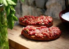Bruschetta, Recipies, Food And Drink, Meat, Cooking, Ethnic Recipes, Kitchen, Recipes, Baking Center