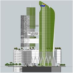 11 best proposed design concept for telekom malayasia office