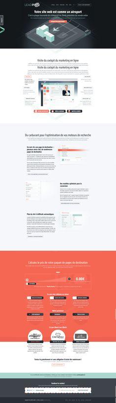 LeadPilot - Web marketing #webdesign #onepage #scroll #interaction