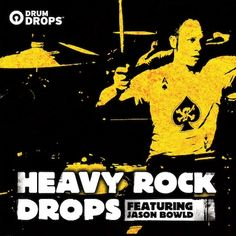 Heavy Rock Drops featuring Jason Bowld available as multi-tracks, stems and drum loops...