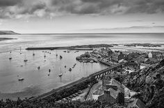 An oldie of Barmouth, close to Farchynys Hall, Snowdonia Snowdonia National Park, North Wales, National Parks, Places To Visit, Castle, Mountains, Landscape, Beach, Kids