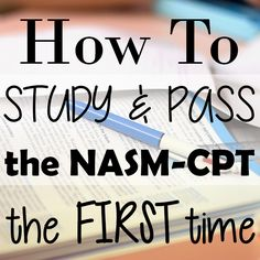 Website w/ helpful links and info on becoming a Certified Personal Trainer.  #cpt #nasm #personaltrainer #healthandfitness #fitmom #fitness #test #howto