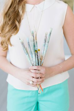 Charleston Artist: Blakely Made - Coastal Paintings photographed by Natalie Franke Photography