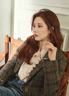 Seohyun, Snsd, Kpop Girl Groups, Kpop Girls, Yuri, Korean Girl Band, Fashion Photography Poses, Girl Bands, Beauty Full Girl