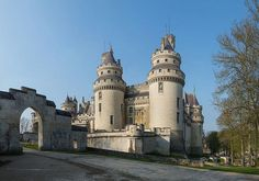 Pierrefonds Castle, French Forest of Compiègne