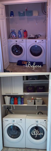 Misadventures in DIY:: Laundry Closet Makeover