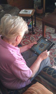 Games on the iPad for Older People #alzheimers #tgen #mindcrowd www.mindcrowd.org