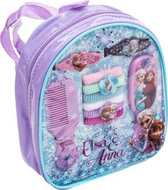 Frozen Backpack with Assorted Hair Accessories: Inspired by the award winning animated Disney hit frozen! Girls Accessories featuring your favorite frozen characters! By HER Accessories. Little Girl Toys, Baby Girl Toys, Toys For Girls, Kids Toys, Frozen Jewelry, Disney Princess Toys, Frozen Toys, Sports Games For Kids, Baby Alive Dolls
