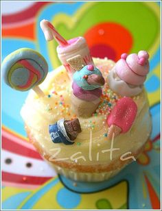 Love the look of this cupcake!