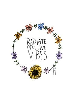 nothin but GOOD VIBES :-D