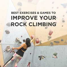 If you ever feel stuck at the level you're climbing at or simply want to improve, check out these 15 best games and exercises to improve rock climbing.