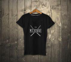The Walking Dead Team Michonne Black T-shirt