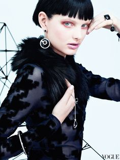 Patricia van der Vliet for Vogue