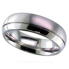 Geti One Third Split Titanium Ring