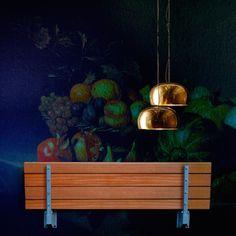 Klapbank – A Foldable Wall Bench