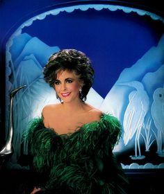 Elizabeth in 1985 by Kenny Rogers by Andrew Garth, via Flickr