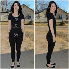 She really is a pear shape!! Tips on how to dress to look proportionate.