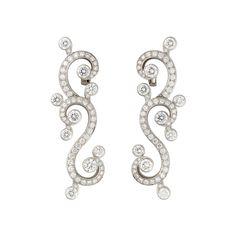 Gojee - Secrets de Boudoir Pendant Earrings by Cartier