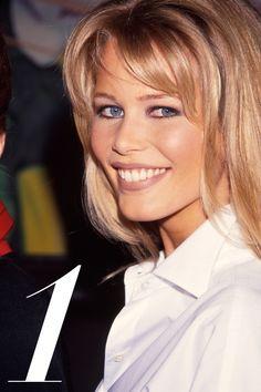 Blonde hair, blue eyes and the brightest smile made Schiffer the ultimate model-next-door.   - HarpersBAZAAR.com